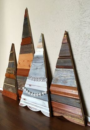 Easy And Creative DIY Christmas Tree Design Ideas You Can Try As Alternatives 48
