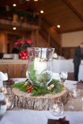 Elegant And Beautiful Tabletop Christmas Tree Centerpieces Ideas 14