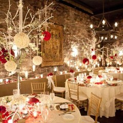 Elegant And Beautiful Tabletop Christmas Tree Centerpieces Ideas 20