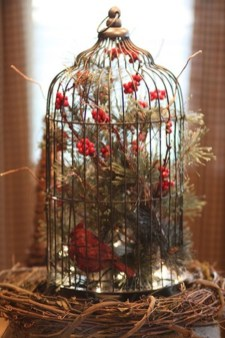 Elegant And Beautiful Tabletop Christmas Tree Centerpieces Ideas 39