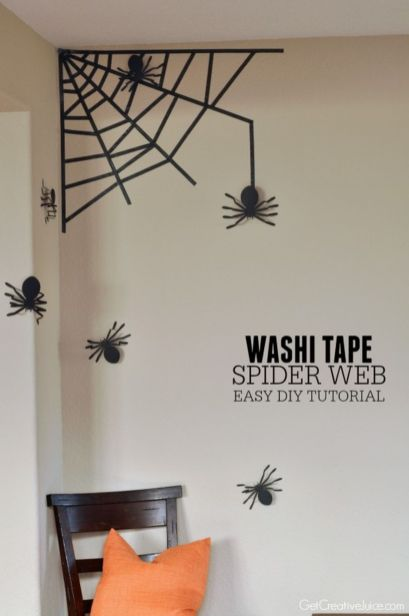Inspiring Halloween Decoration Ideas For Your Apartment 34