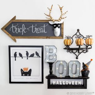 Inspiring Halloween Decoration Ideas For Your Apartment 36