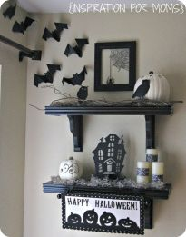 Inspiring Halloween Decoration Ideas For Your Apartment 55