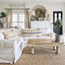 Inspiring Living Room Decoration Ideas With Carpet 04