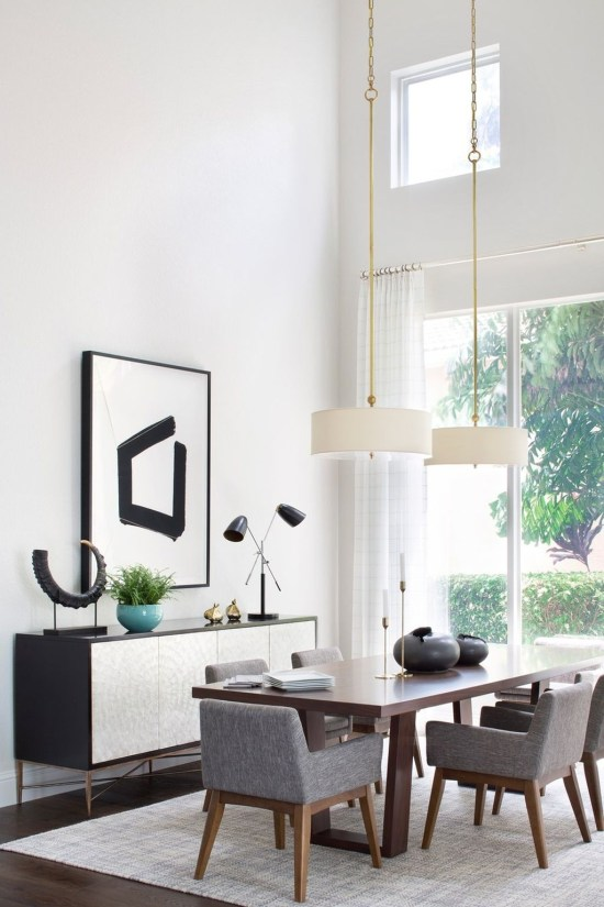 Inspiring Modern Dining Room Design Ideas 99