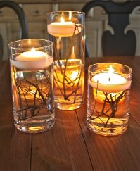 Inspiring Modern Rustic Christmas Centerpieces Ideas With Candles 63