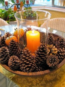 Inspiring Pine Cones Christmas Decoration Ideas 09
