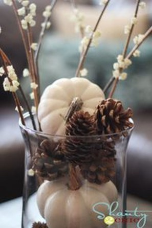Inspiring Pine Cones Christmas Decoration Ideas 24