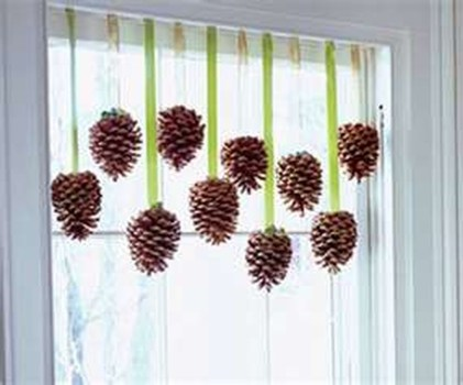 Inspiring Pine Cones Christmas Decoration Ideas 39