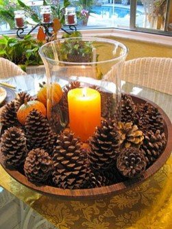 Inspiring Pine Cones Christmas Decoration Ideas 44