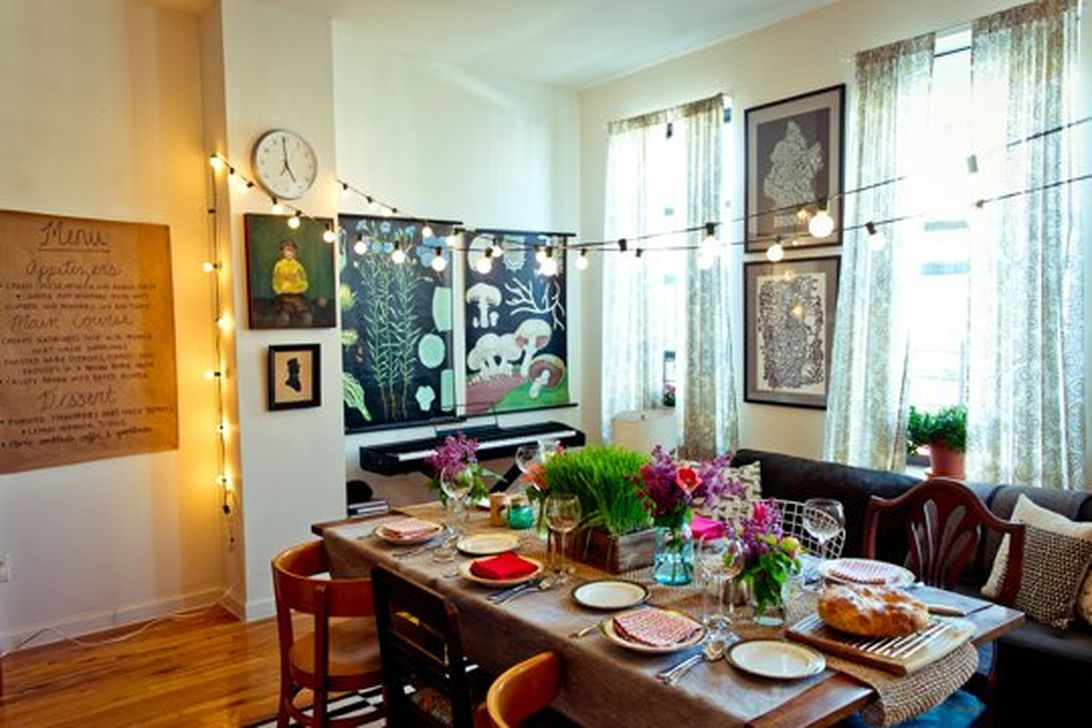 Inspiring And Affordable Decoration Ideas For Small Apartment 24