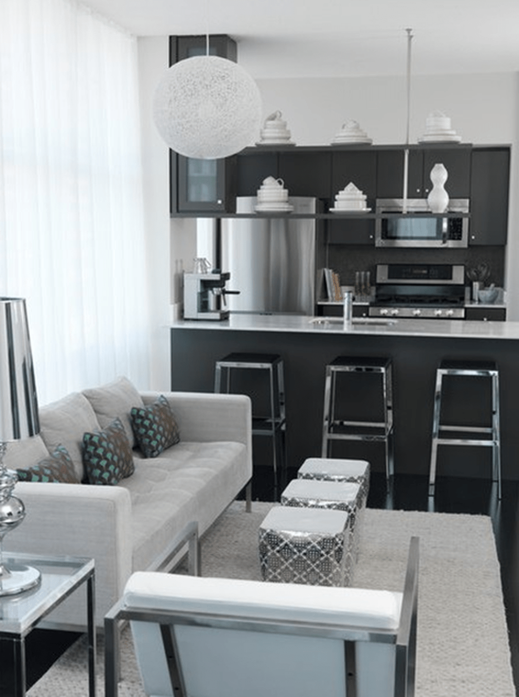 Inspiring And Affordable Decoration Ideas For Small Apartment 42