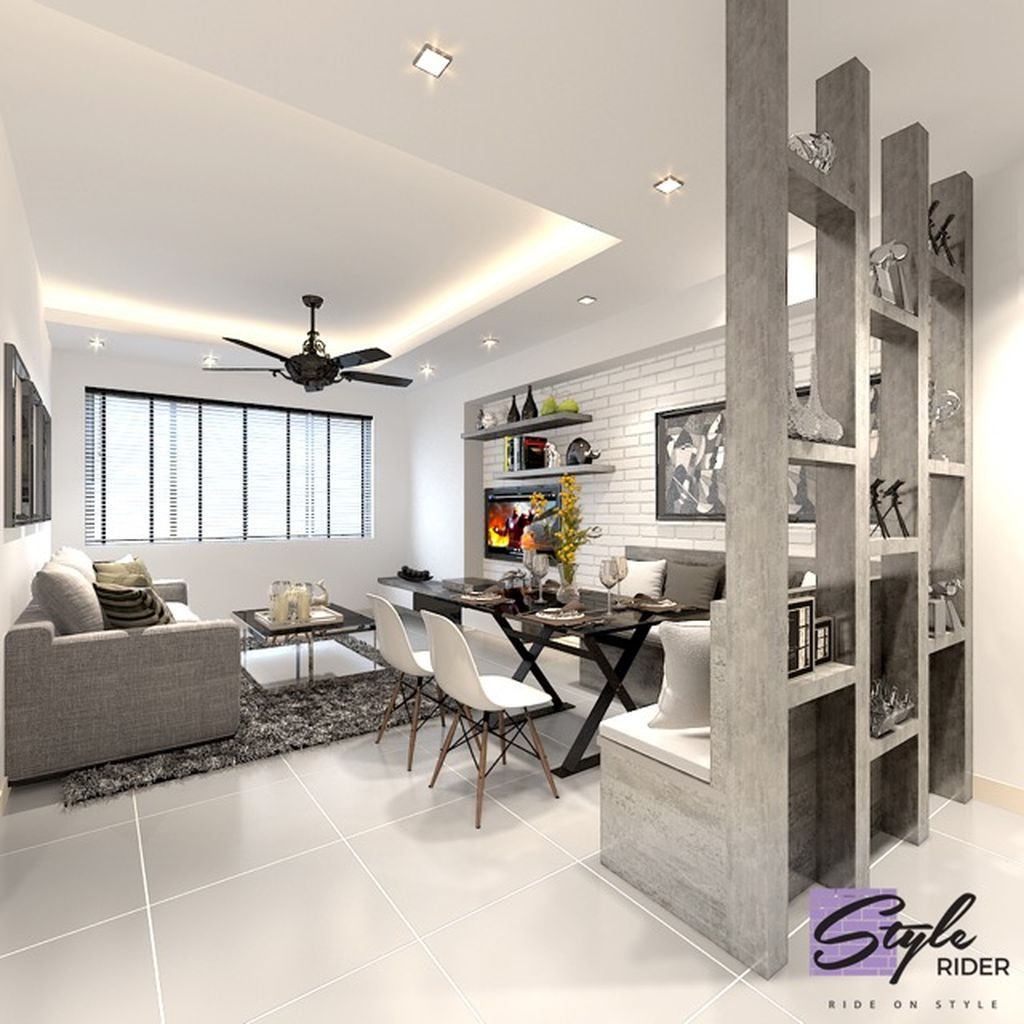 Inspiring And Affordable Decoration Ideas For Small Apartment 51