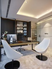 Modern And Cozy Office Interior Design Ideas To Makes You Feel Comfortable 12
