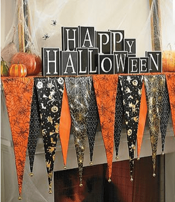 Scary But Classy Halloween Fireplace Decoration Ideas 10