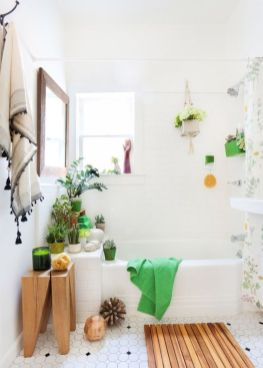 Simple And Clean Apartment Bathroom Decoration Ideas Suitable For You Who Living With Roomates 33
