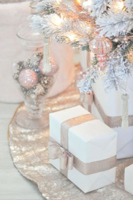 Stunning White Vintage Christmas Decoration Ideas 60