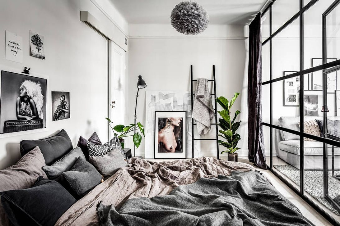 Totally Brilliant Bedroom Design Ideas For Small Apartment 25