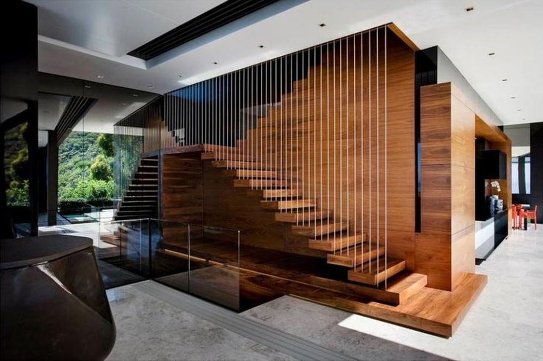 Totally Inspiring Residential Staircase Design Ideas You Can Apply For Your Home 11