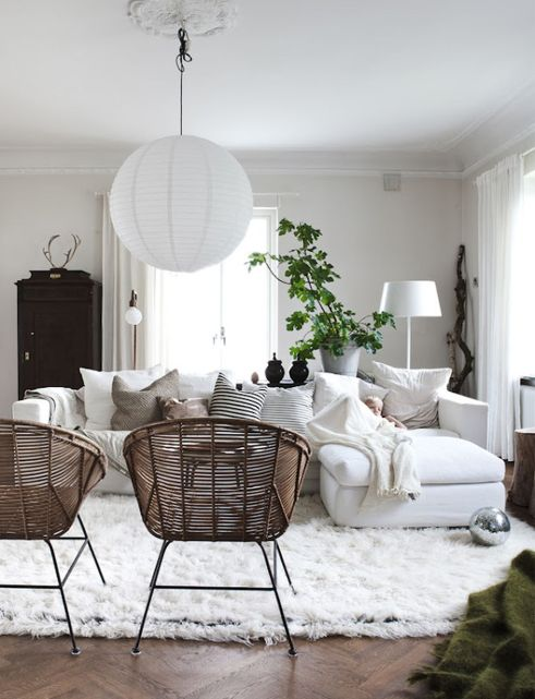Totally Outstanding Sectional Sofa Decoration Ideas With Lamps 02