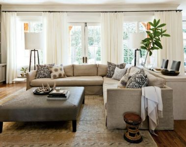 Totally Outstanding Sectional Sofa Decoration Ideas With Lamps 18