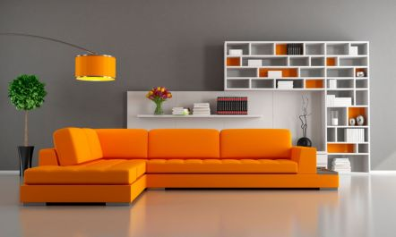 Totally Outstanding Sectional Sofa Decoration Ideas With Lamps 27