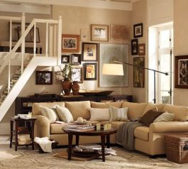 Totally Outstanding Sectional Sofa Decoration Ideas With Lamps 33