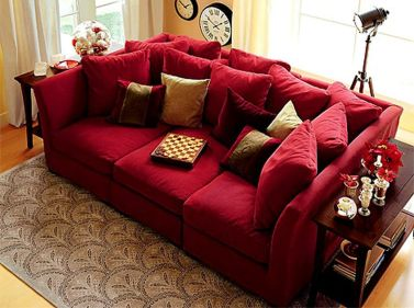 Totally Outstanding Sectional Sofa Decoration Ideas With Lamps 34