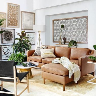 Totally Outstanding Sectional Sofa Decoration Ideas With Lamps 35