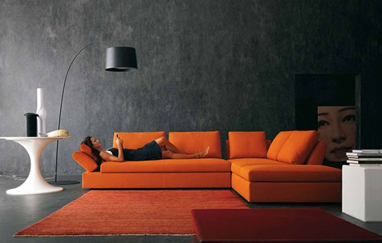 Totally Outstanding Sectional Sofa Decoration Ideas With Lamps 72