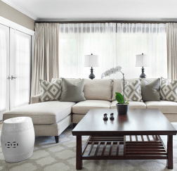 Totally Outstanding Sectional Sofa Decoration Ideas With Lamps 81