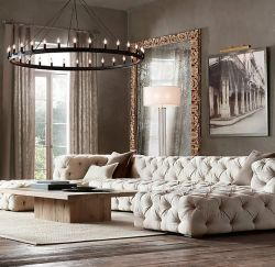 Totally Outstanding Sectional Sofa Decoration Ideas With Lamps 84