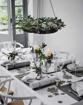 Elegant Table Christmas Decoration Ideas 18