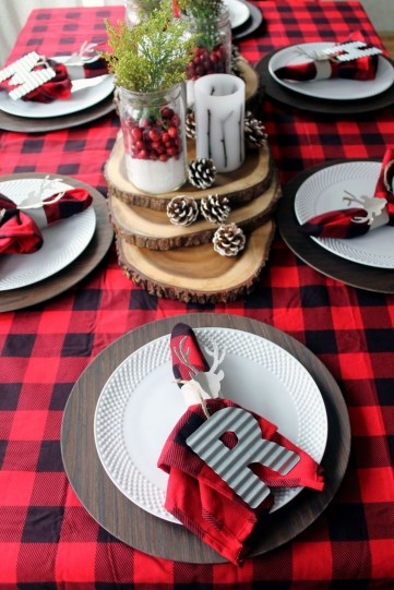 Elegant Table Christmas Decoration Ideas 37