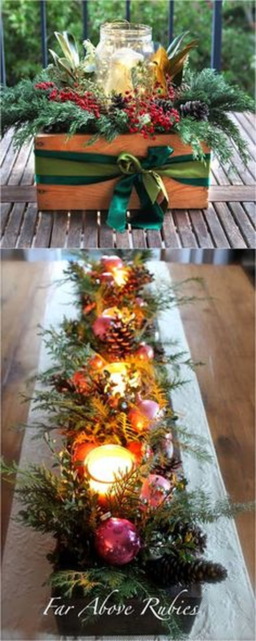 Simple And Easy Christmas Centerpieces Ideas31