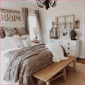 Totally Adorable French Bedroom Decoration Ideas09