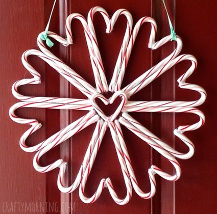 Totally Fun Candy Cane Christmas Decoration Ideas For Your Home24
