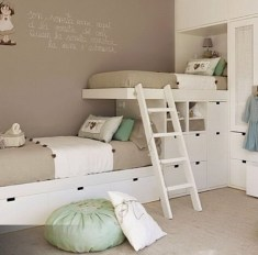 Cool And Functional Built In Bunk Beds Ideas For Kids16