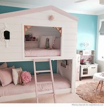 Cool And Functional Built In Bunk Beds Ideas For Kids18