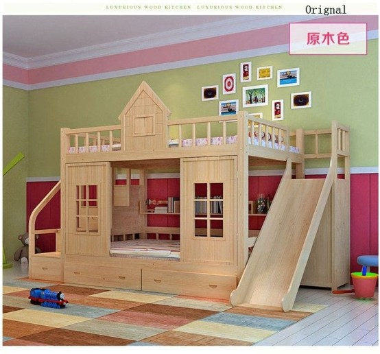 Cool And Functional Built In Bunk Beds Ideas For Kids32