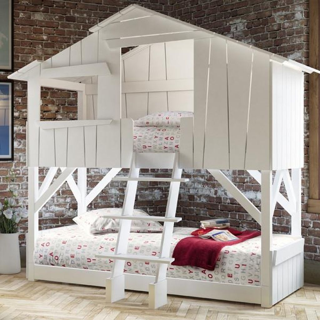 Cool And Functional Built In Bunk Beds Ideas For Kids35