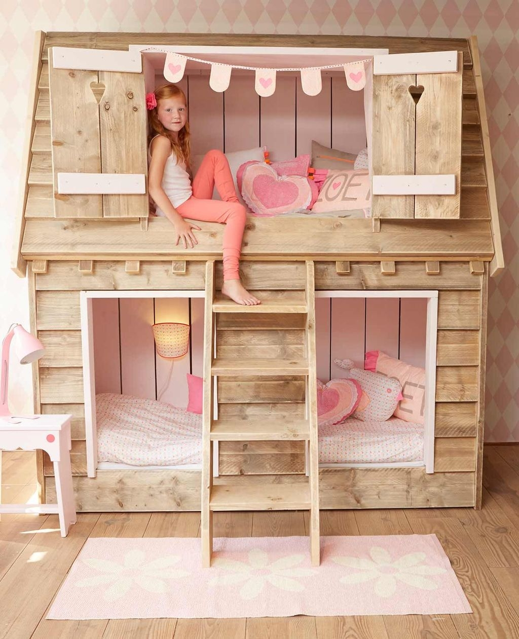 Cool And Functional Built In Bunk Beds Ideas For Kids37