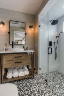 Cool Rustic Modern Bathroom Remodel Ideas 23