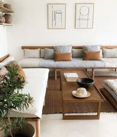 Cozy And Modern Living Room Decoration Ideas 04