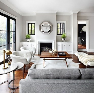 Cozy And Modern Living Room Decoration Ideas 09