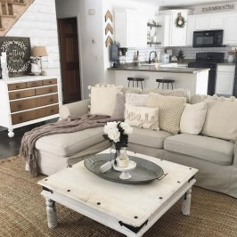 Cozy Neutral Living Room Decoration Ideas 08
