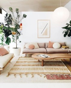 Cozy Neutral Living Room Decoration Ideas 10