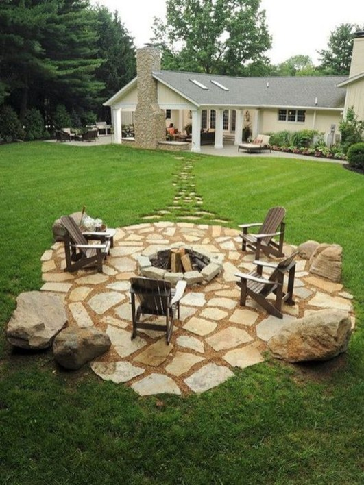 Cozy Rustic Patio Design Ideas24