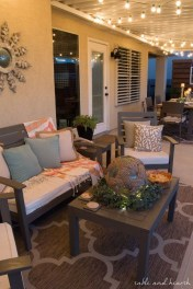 Cozy Rustic Patio Design Ideas29