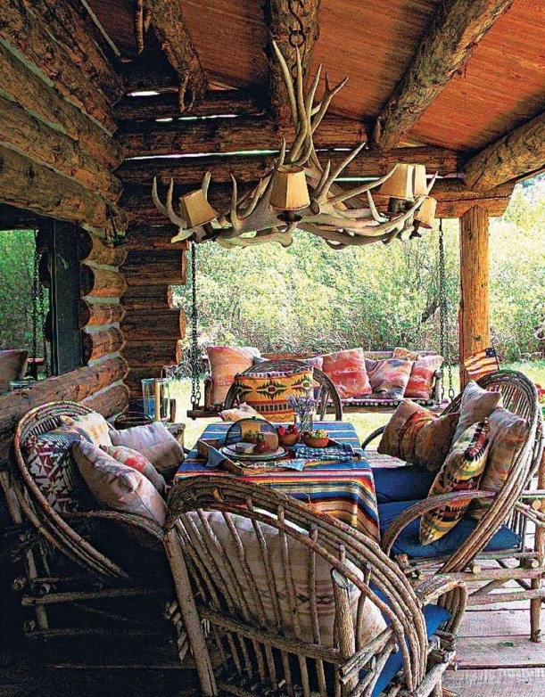 Cozy Rustic Patio Design Ideas33